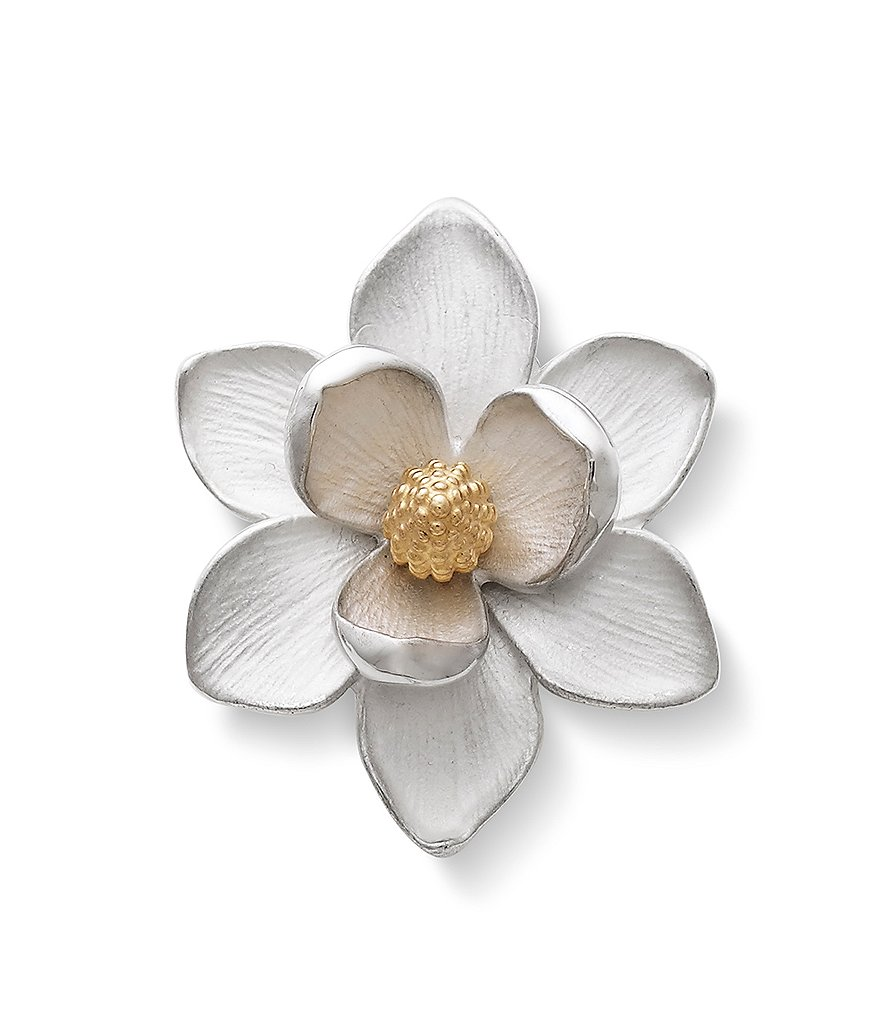 James Avery Magnolia Blossom Sterling Silver Pendant