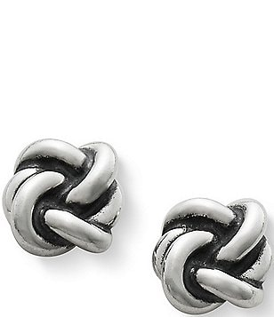 James Avery Original Lovers' Knot Stud Earrings