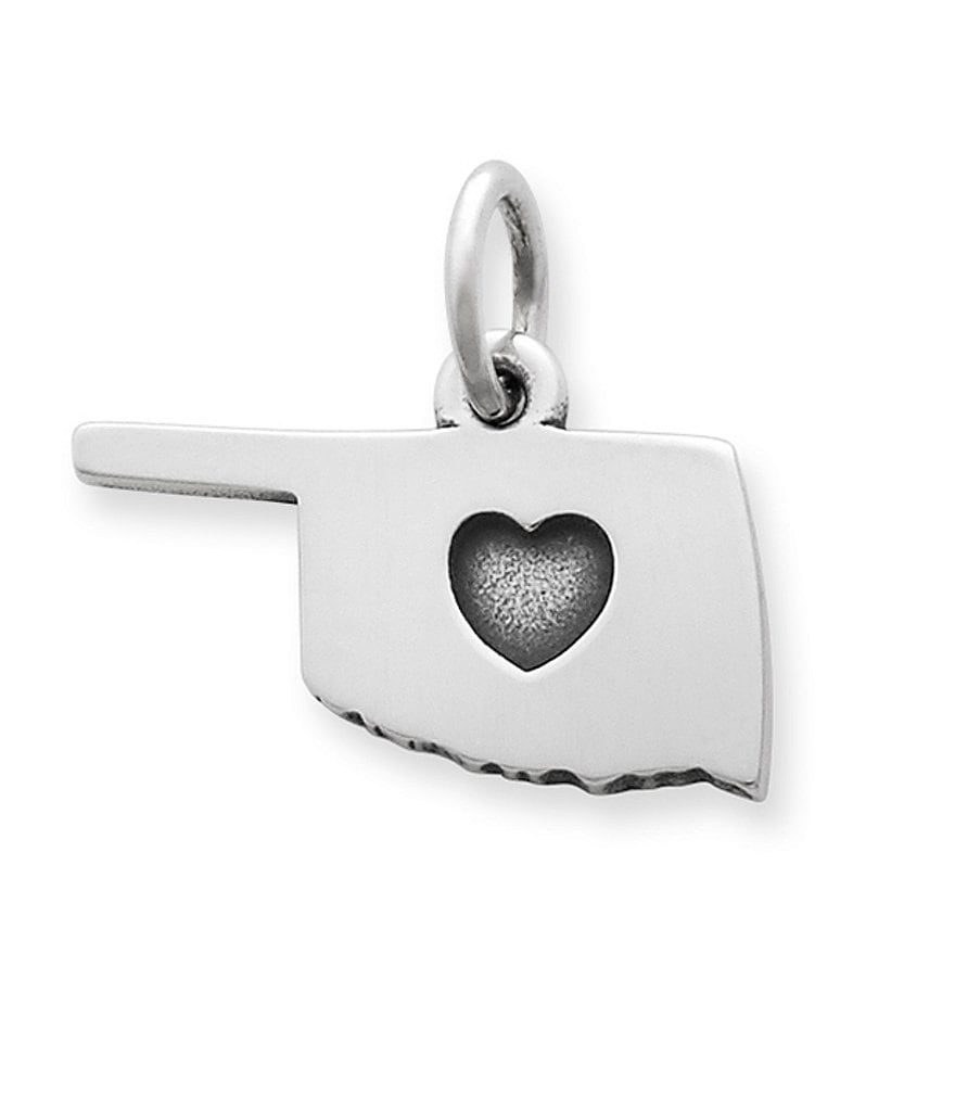 James Avery I Love Oklahoma Charm