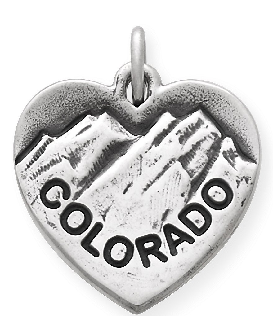 James Avery I Love Colorado Charm