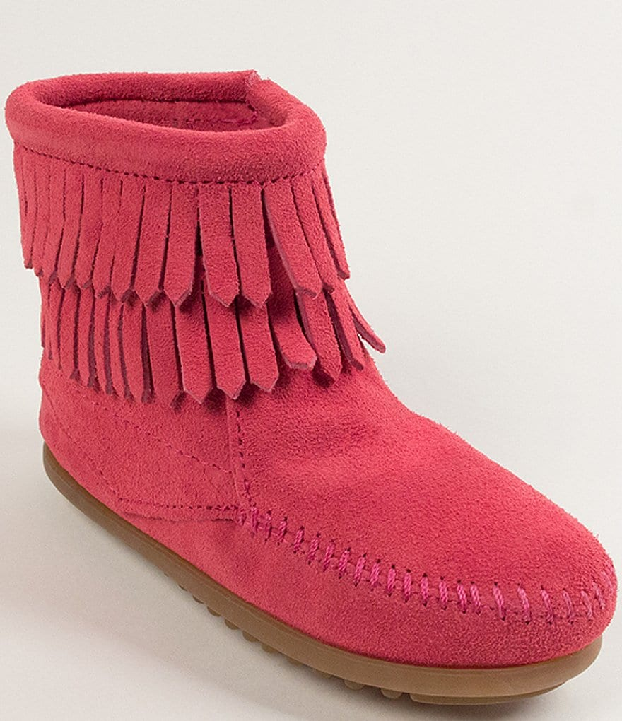 Minnetonka Double Fringe Girls´ Boots