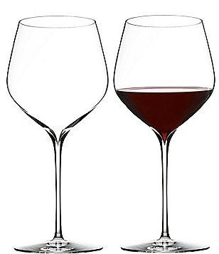 Waterford Elegance Series Crystal Cabernet Sauvignon Wine Glass Pair