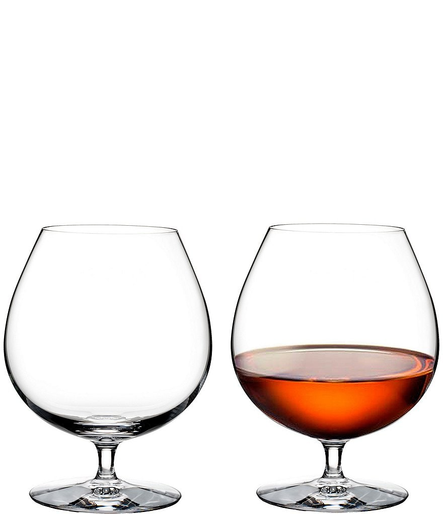 Waterford Elegance Series Crystal Brandy Glass Pair