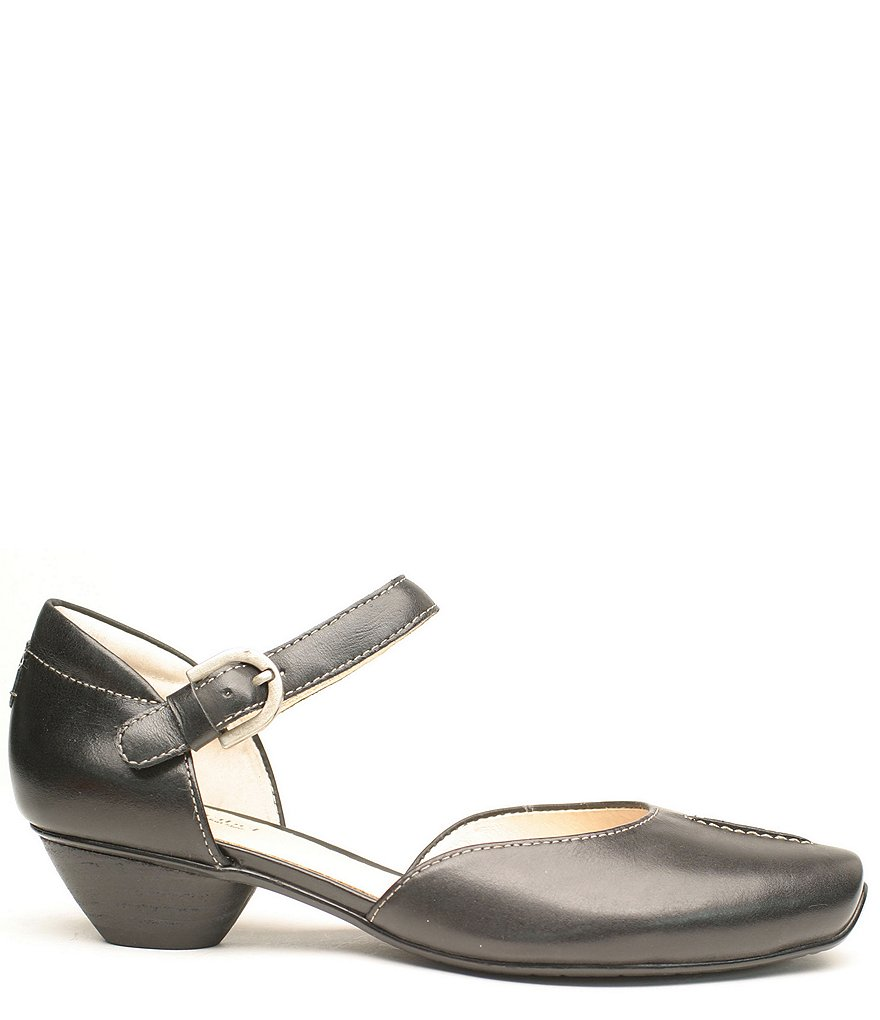 Josef Seibel Tina 17 Leather Mary Jane Flats