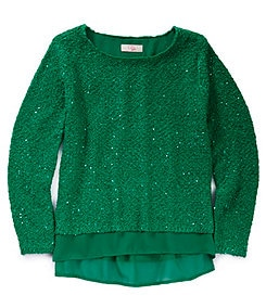 GB Girls 7-16 Sequin Sweater