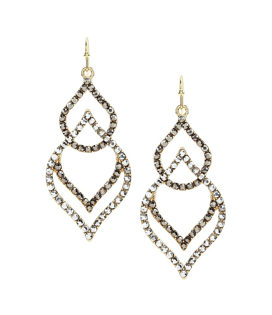 Anna & Ava Moroccan Duo Drop Earrings