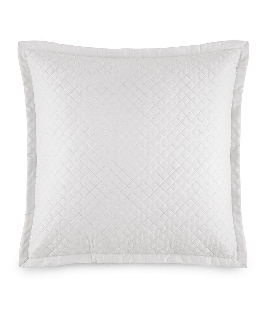 Ralph Lauren Wyatt Quilted Sateen Square Pillow