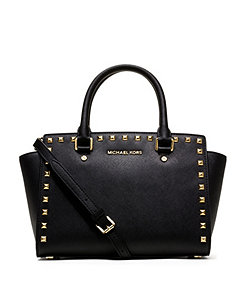 MICHAEL Michael Kors Selma Studded Medium Convertible Satchel