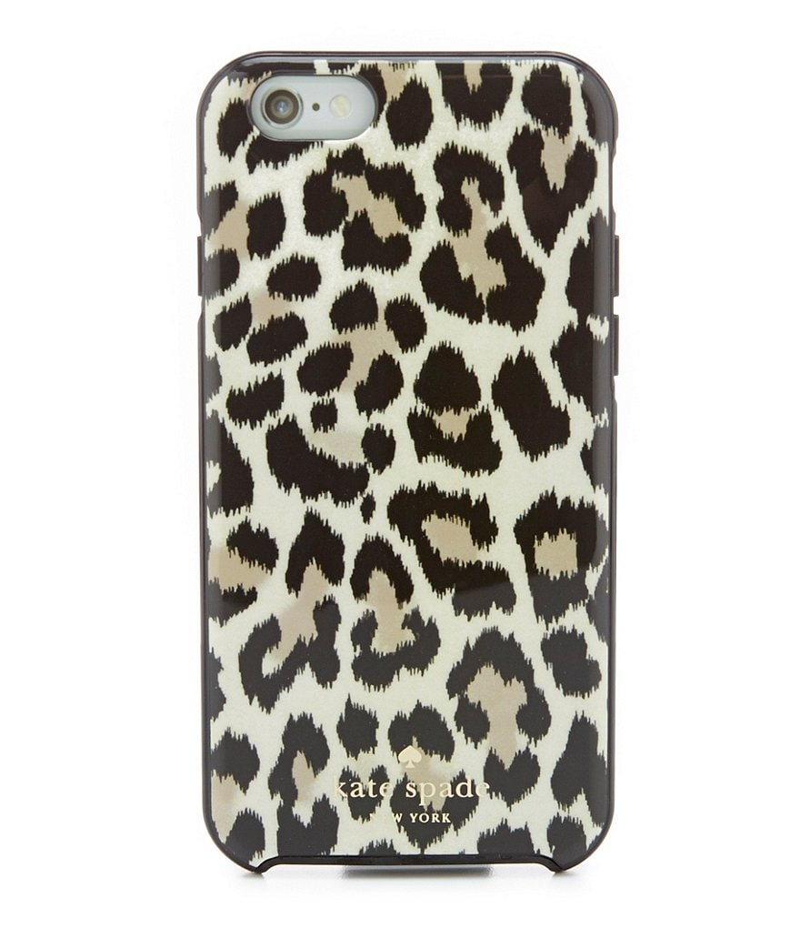 kate spade new york Leopard Ikat Resin and Rubber iPhone 6 Case