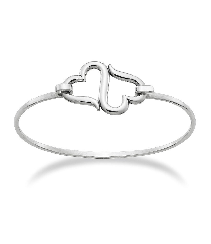 James Avery Heart to Heart Sterling Silver Bracelet
