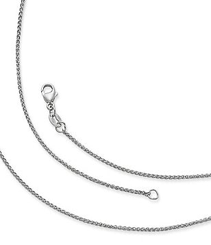 James Avery Sterling Silver Very Light Spiga Chain