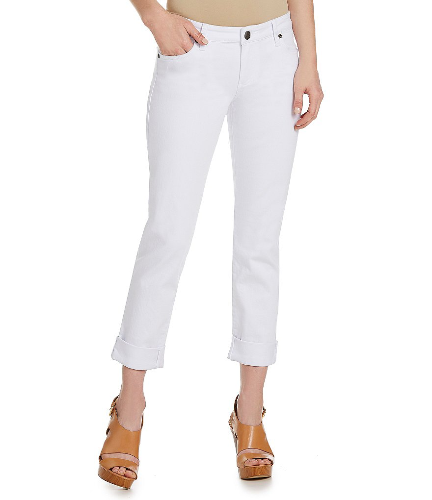 KUT from the Kloth Catherine Boyfriend Capri Pants