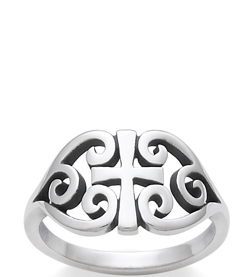 Heart Scroll Ring From James Avery