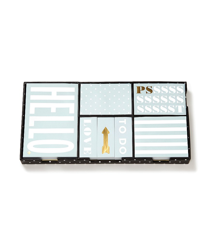 kate spade new york Sticky Note Set: This Just In