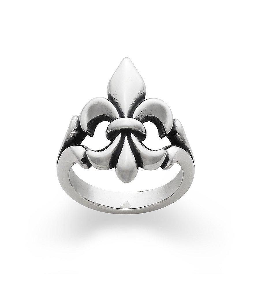 avery fleur de lis sterling silver ring dillards
