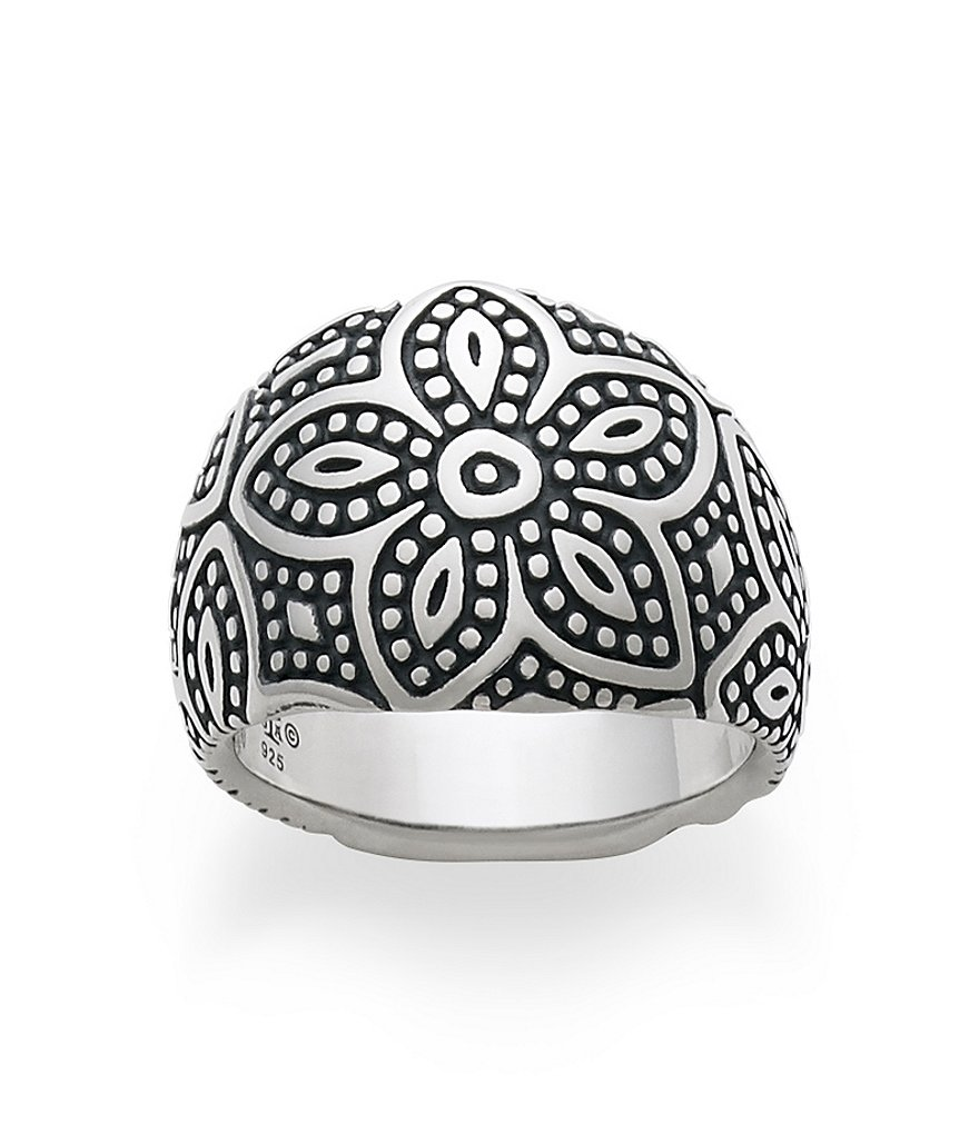 James Avery Beaded Floral Ring