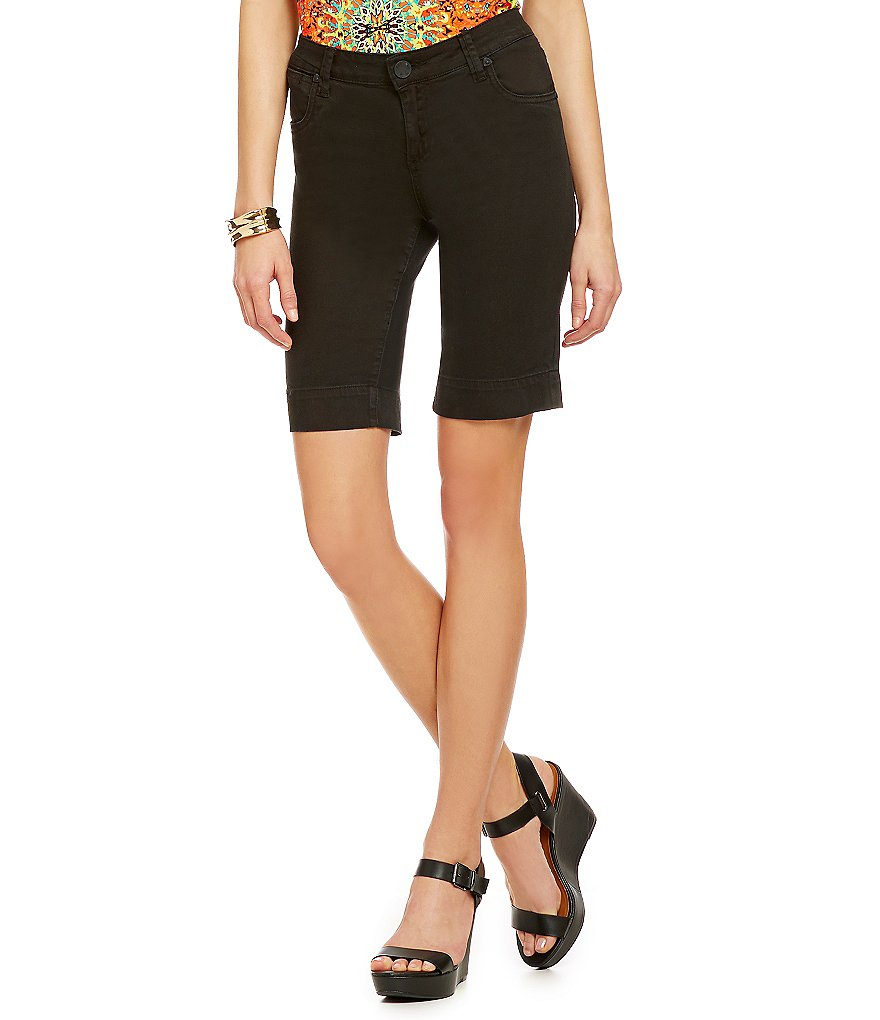 KUT from fhe Kloth Natalie Twill Bermuda Shorts