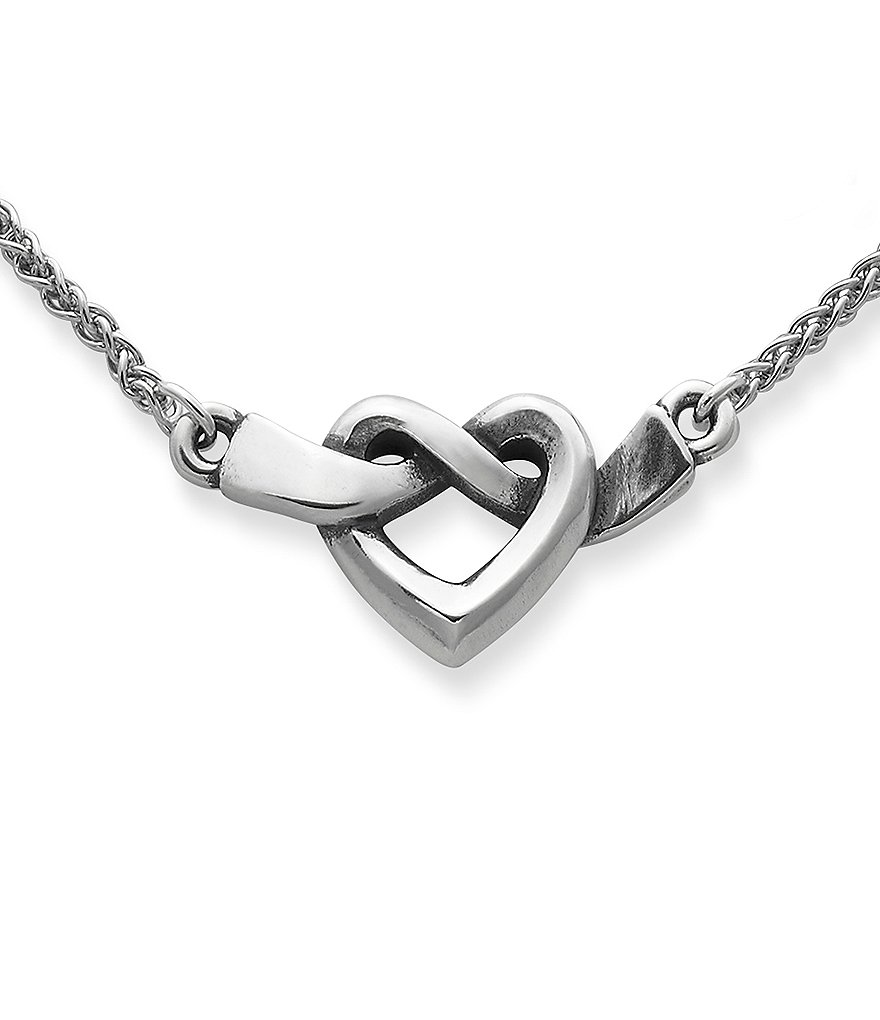 James Avery Heart Knot Necklace