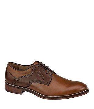 Johnston & Murphy Conrad Saddle Dress Shoes
