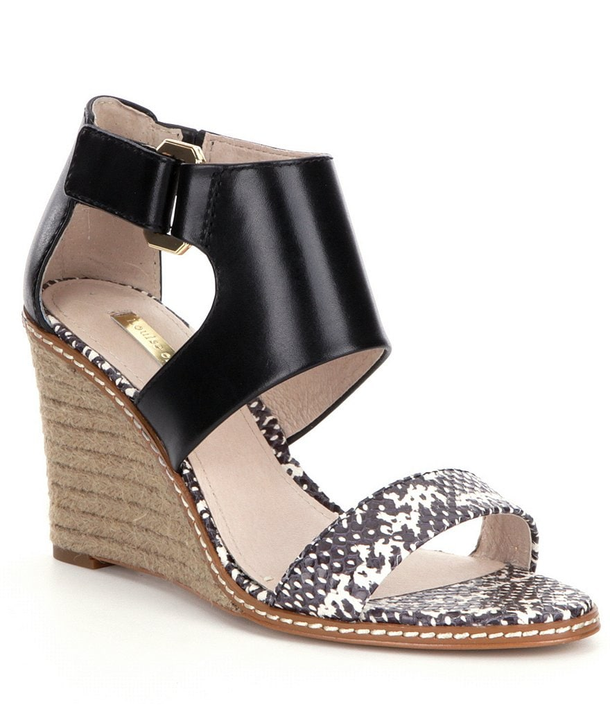 Louise et Cie Rocco Espadrille Wedge Sandals