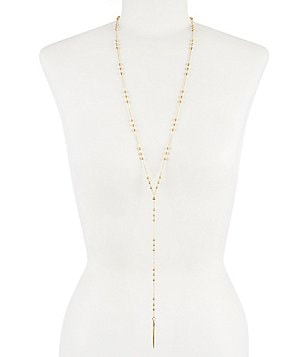Dogeared Dare To Spike Delicate Long Y-Necklace
