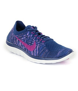 Nike Women�s Free 4.0 Flyknit Running Shoes Image