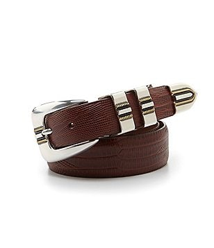 Johnston & Murphy Men´s Lizard Belt