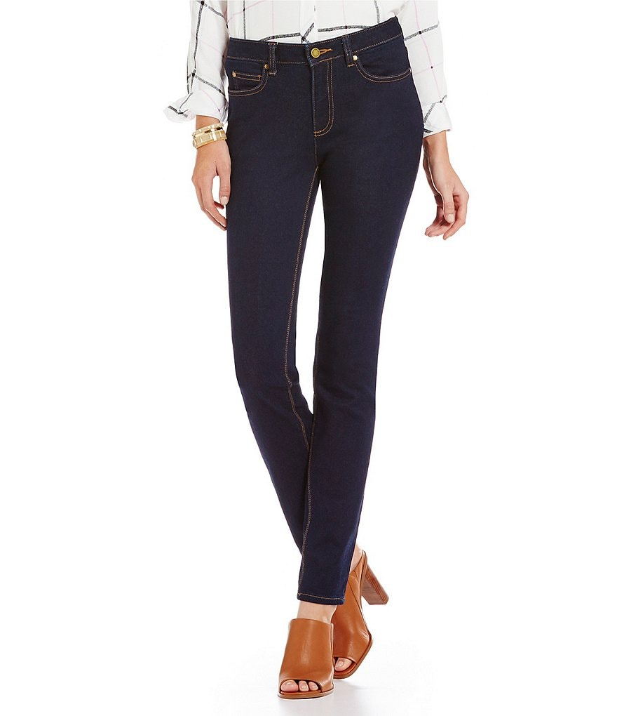 Two by Vince Camuto Classic Straight-Leg Skinny Jeans | Dillards
