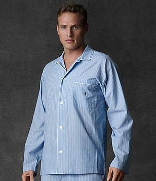 Polo Ralph Lauren Big & Tall Andrew Striped Sleep Shirt