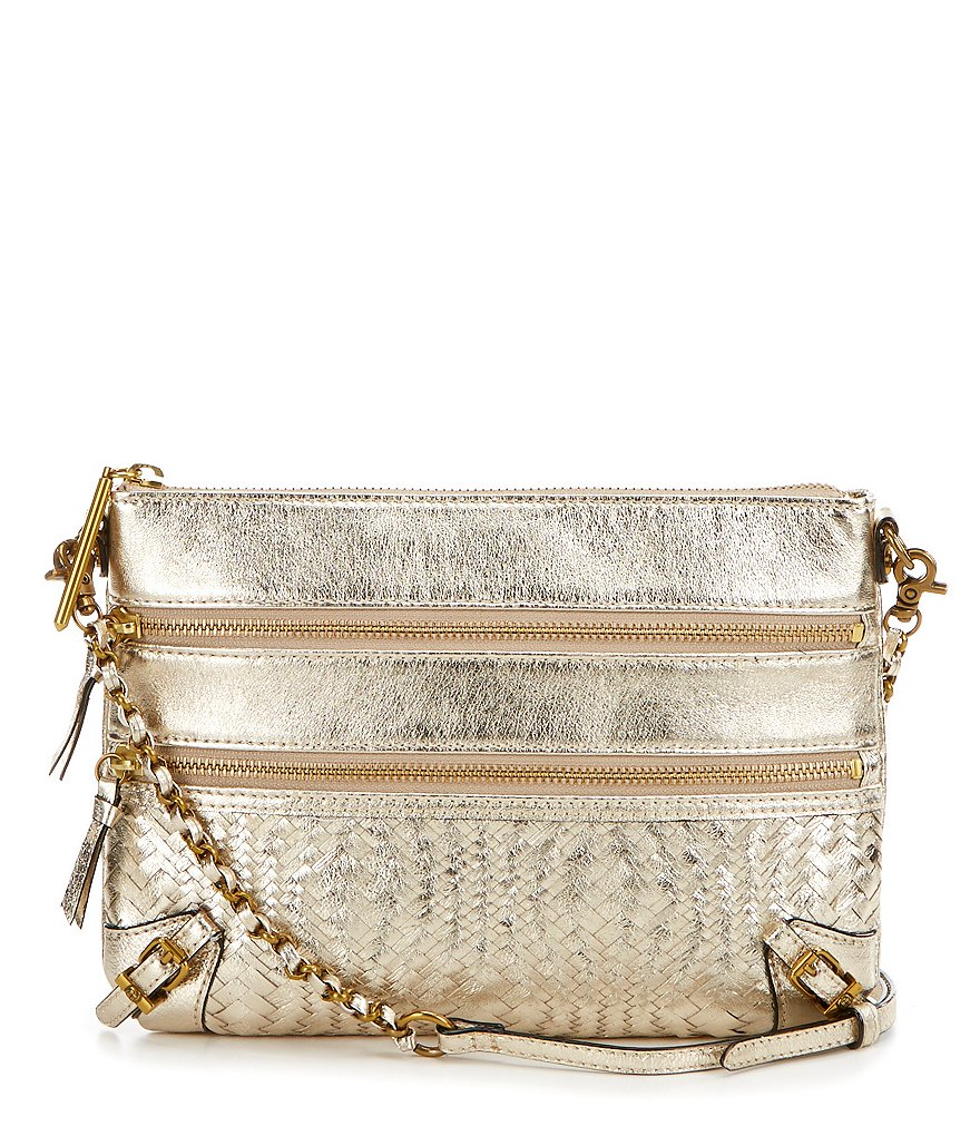 Elliott Lucca Messina 3-Zip Convertible Cross-Body Bag