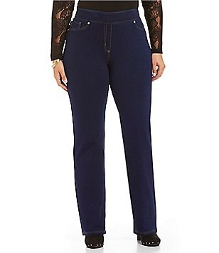 Nygard SLIMS Plus Straight-Leg Denim Pants