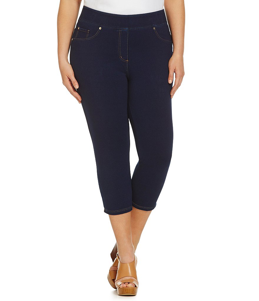 Nygard SLIMS Plus Capri Jeans