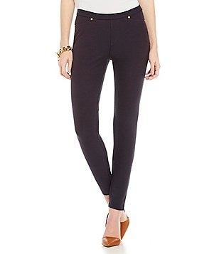 MICHAEL Michael Kors Stretch Twill Knit Leggings