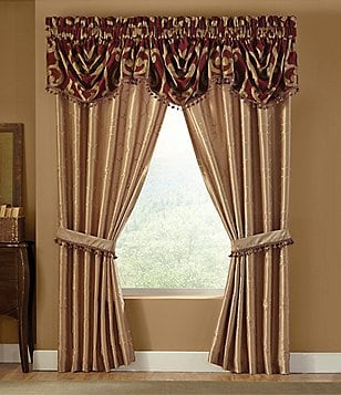 Veratex Corsica Scroll Chenille Window Treatments