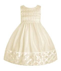 American Princess 2T-6X Basketweave Dress