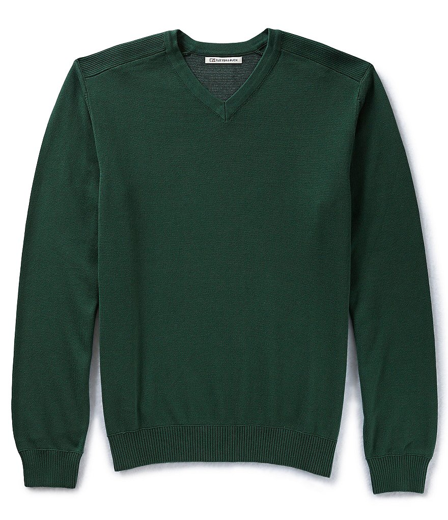 Cutter & Buck Golf Broadview V-Neck Sweater