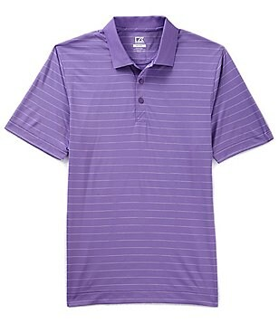 Cutter & Buck Drytec Franklin Horizontal Stripe Polo Shirt