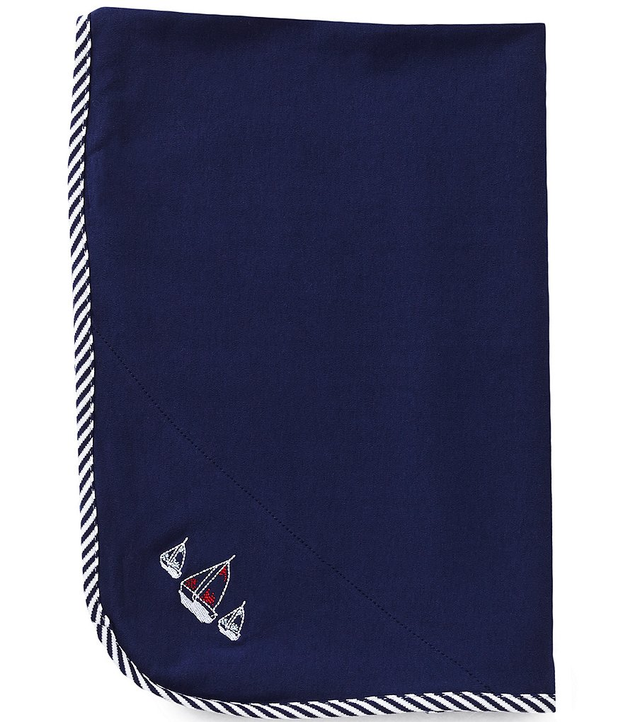 Little Me Sailboats Blanket