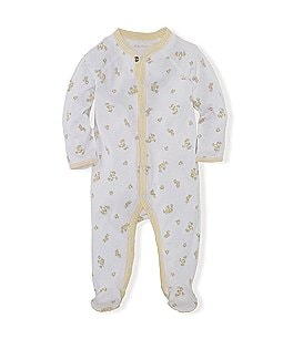 Ralph Lauren Childrenswear Newborn-9 Months Duck Printed Footed Coverall Image