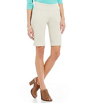Jag Jeans Ainsley Twill Pull-On Bermuda Shorts