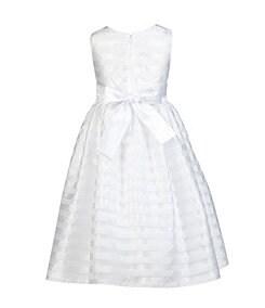 Jayne Copeland 2T-6X Illusion-Stripe Dress