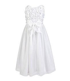 Jayne Copeland 2T-6X Soutache-Bodice Ballerina-Skirted Dress