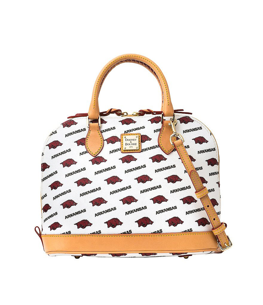 Dooney & Bourke University of Arkansas Razorback Convertible Dome Satchel
