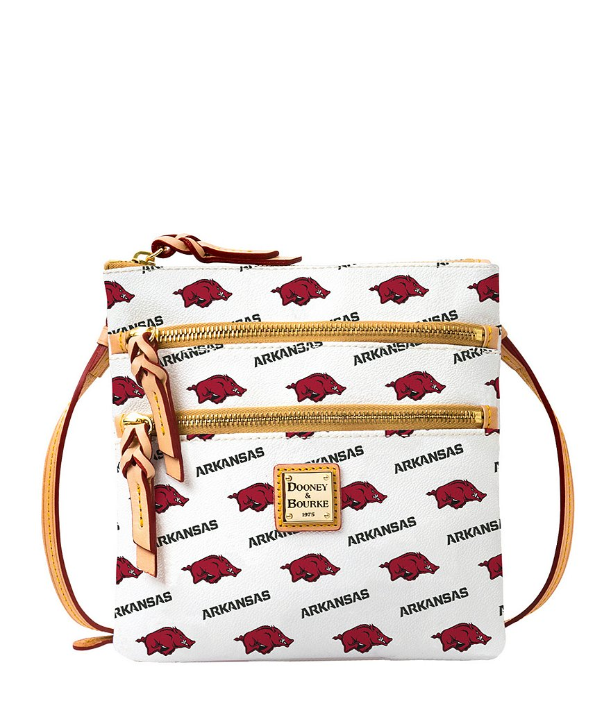 Dooney & Bourke University of Arkansas Razorback Cross-Body Bag