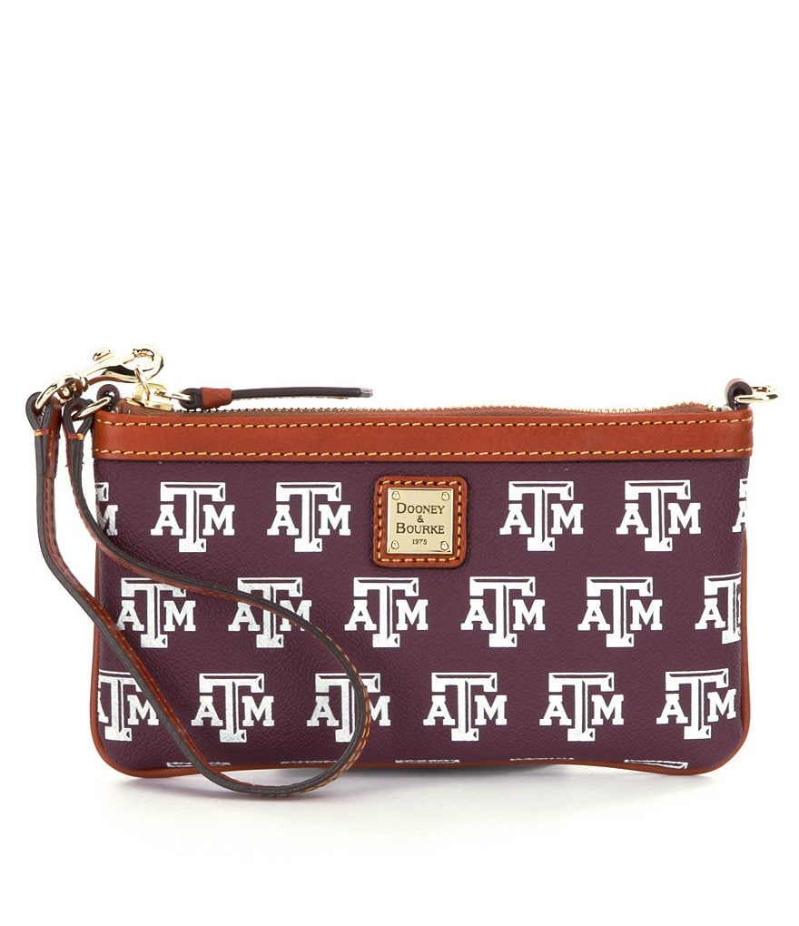Dooney & Bourke Texas A&M University Wristlet