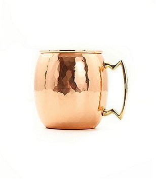 Old Dutch Hammered Copper & Brass Moscow Mule Mug