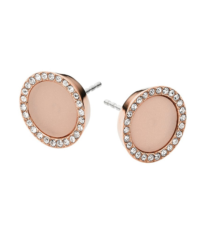 Michael Kors Blush Disc Earrings