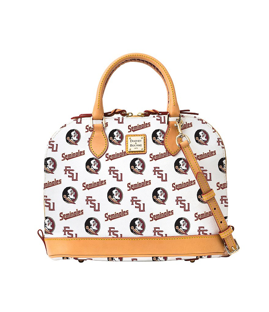 Dooney & Bourke Florida State University Convertible Dome Satchel