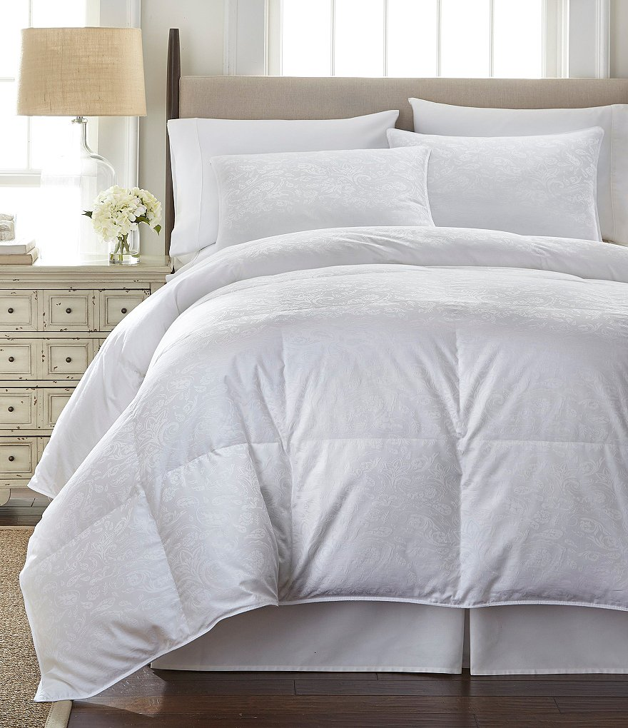 Southern Living 400 Thread Count Paisley Jacquard Duck