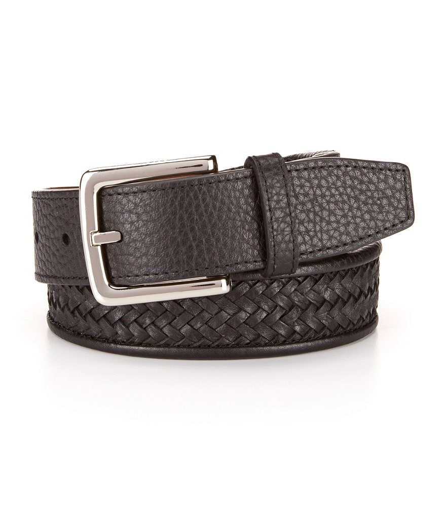 Cole Haan Woven Leather Belt